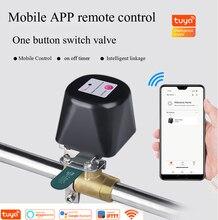 Tuya Smart Home, Casa Intelligente Valvola di Sistema di Irrigazione di Acqua del Gas di Controllo Senza Fili WiFi Lavoro di Controllo di Intercettazione Con Alexa E Google Casa, IFTTT