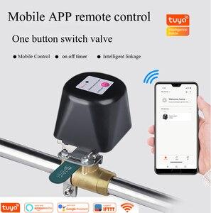 Image 1 - Tuya בית חכם אלחוטי בקרת גז מים שסתום מערכת WiFi ניתוק בקר עבודה עם Alexa ו google בית, IFTTT