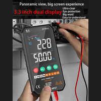 Digital multimeter Smart tester DC NCV transistor temperature voltage tester digital multimeter professional analog multimetro