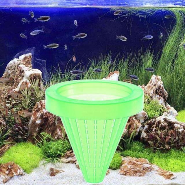 1pc Red Worm Feeder Funnel Cup  1