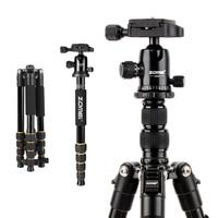 Zomei Q666 60inch Lightweight Tripod DSLR Camera Ball Head Monopod Tripod Compact Travel Camera Stand