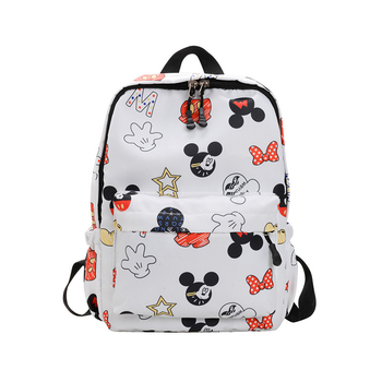 Disney Mickey mouse backpack multi-function large capacity backpack waterproof men women shoulder bag Travel bag school bag disney mickey mouse backpack canvas soft fabric female pure colour student bag school vintage women girls travel bag gift