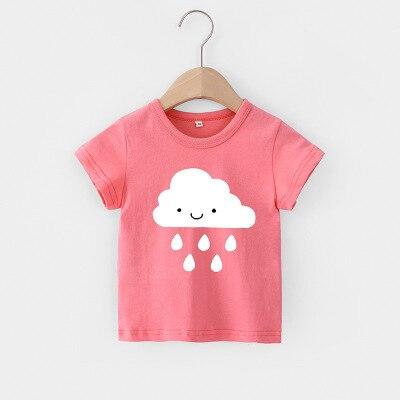 VIDMID Baby girls t-shirt Summer Clothes Casual Cartoon cotton tops tees kids Girls Clothing Short Sleeve t-shirt 4018 06 20