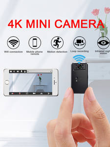 Small Cam Camera Camcorder Video Wifi Motion-Detection Night-Vision Micro Smart 4k Mini