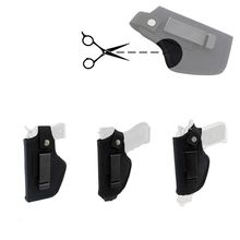 Metal-Clip Holster-Belt Airsoft Bag Concealed Carry Handguns IWB OWB for Right Left Hand-Draw
