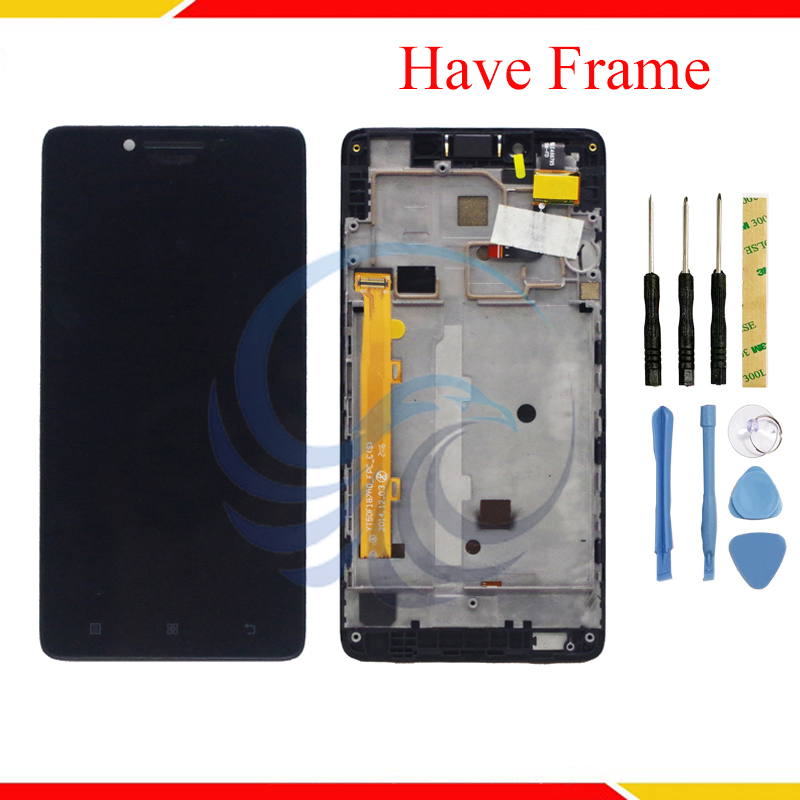 For Lenovo A6000 A 6000 LCD Display With Touch Screen Complete Assembly