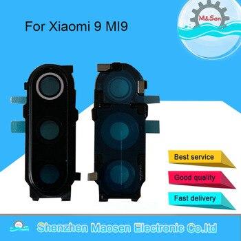 Original M&Sen For Xiaomi 9 MI9 MI 9 M9 Mi9 Mi 9 Camera Glass Lens Frame Cover Case For Xiaomi 9 Camera Frame With Glass Lens