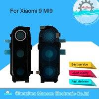 Orijinal M & Sen Xiao mi 9 MI9 mi 9 M9 Mi9 MI 9 kamera cam Lens çerçeve kapak kılıf için xiaomi mi 9 kamera çerçeve cam Lens ile