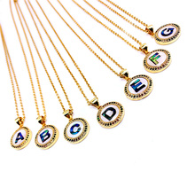 10pcs,Women Pendant Necklace, Fashion Jewelry, Pop Charms, Letters Shape,Gold colors,Can Wholesale