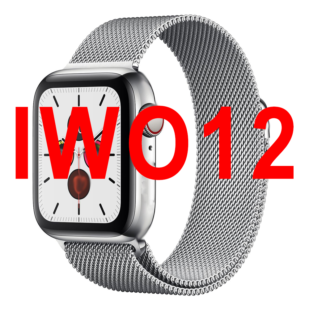 Vwar Watch 5 <font><b>IWO</b></font> 12 PRO Bluetooth Smart Watch 1:1 <font><b>SmartWatch</b></font> 40mm <font><b>44mm</b></font> Case for Apple Android phone Heart Rate PK <font><b>IWO</b></font> <font><b>8</b></font> 13 MAX image