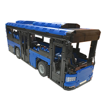 Building Blocks Compatible MOC-5161Motorized Bus Technic Bricks Gifts Fit lepining Diy Toy Christmas Gift 2020pcs alien building blocks diy bricks toy
