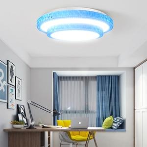 Image 1 - Lámpara de techo Led moderna, 220V, 36W, 72W, regulable, para sala de estar, montada en superficie para cocina y hogar