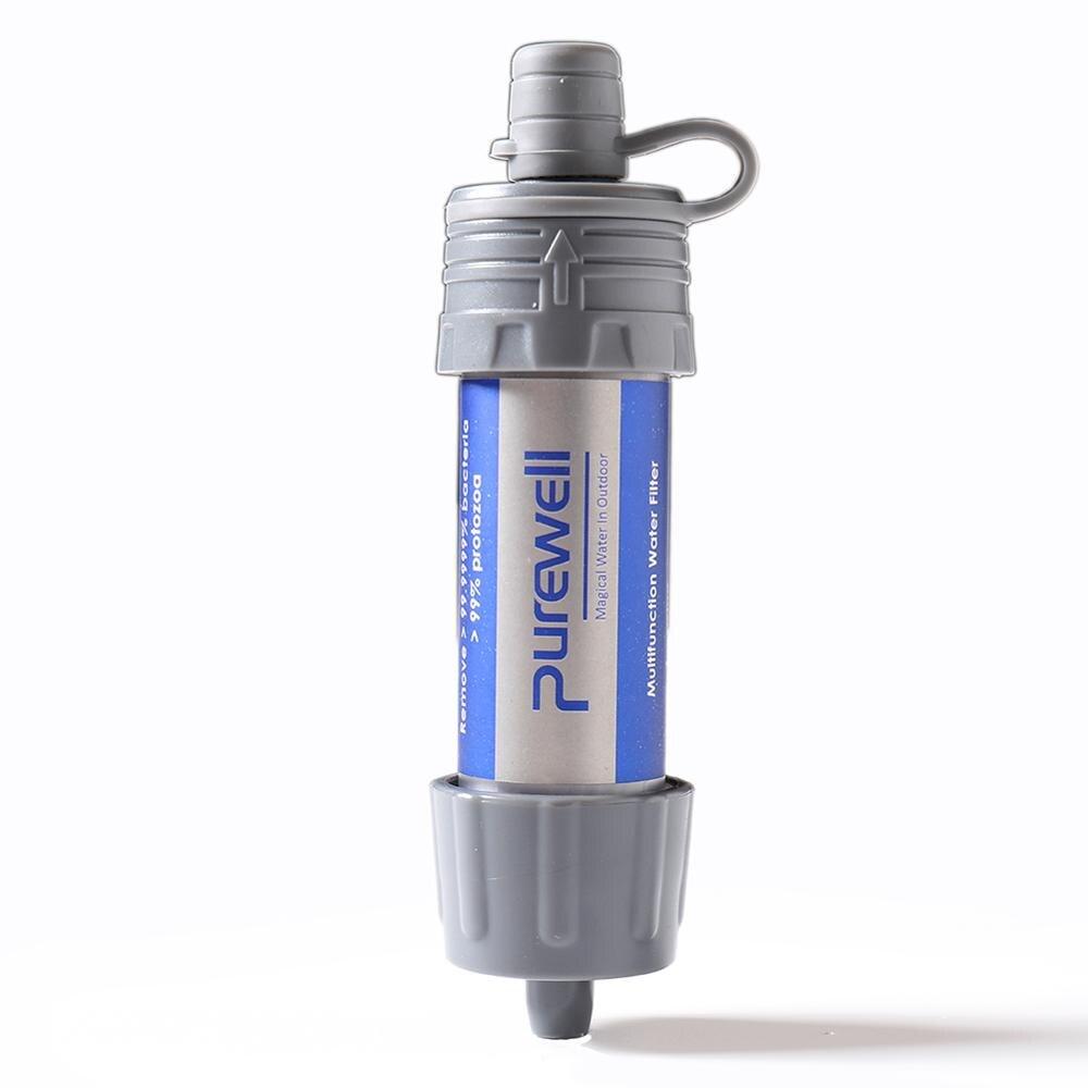 filtragem pessoal do filtro 5000 l da agua da emergencia do purificador de agua portatil mini