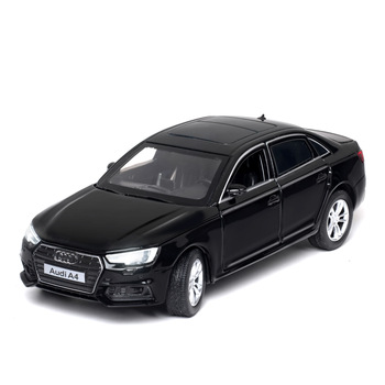 KIDAMI 1:32 AUDI A4 Alloy Car Model Metal Diecast Toys For Kids Collection/Diecast Vehicles Pull-back Vehicle Boy Toy Car Gift new year gift lp770 upgrade package 1 18 metal model car collection toys luxury diecast decoration alloy metal static present