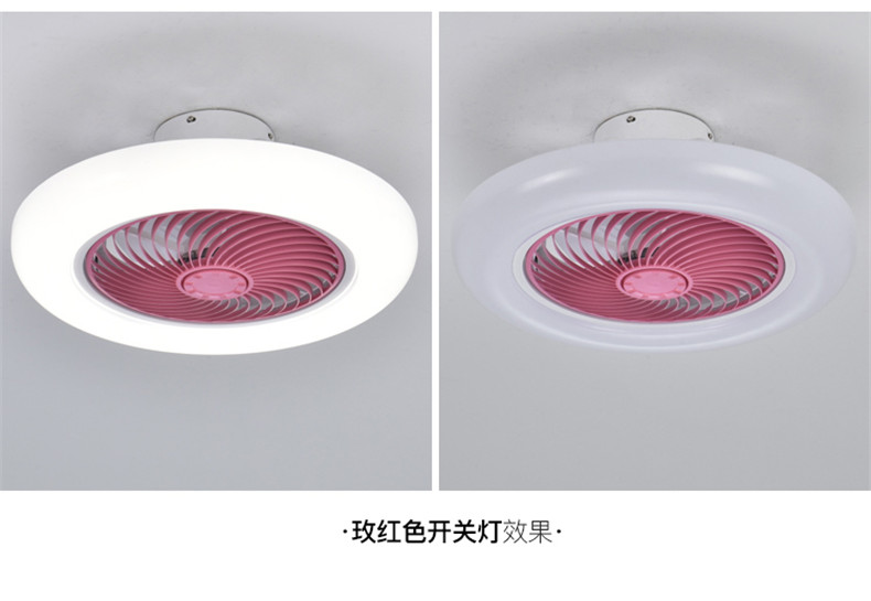 Modern Ceiling Fan with Lights Remote Control