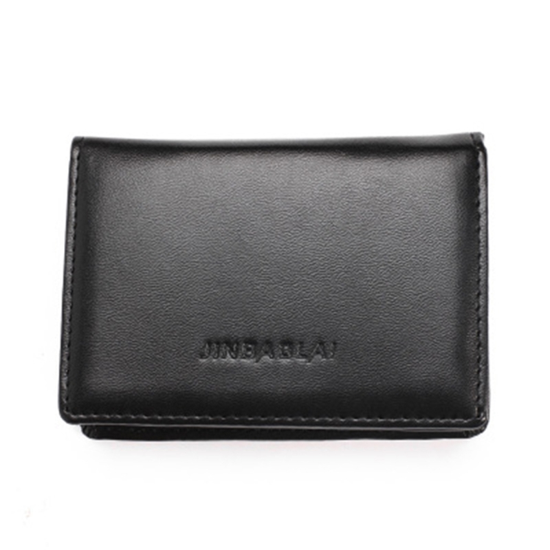 New Beautiful Black Horse Business Credit Card Holder Case