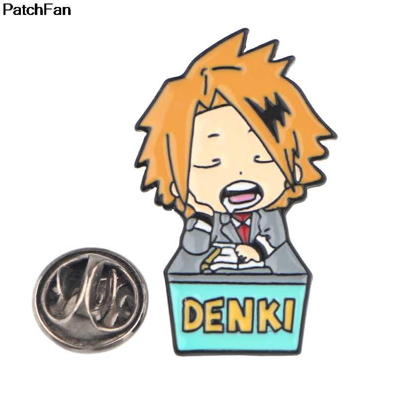 Patchfan Mijn Hero Academia Enamel Broches Pins Zink Metalen Insignia Para Diy Rugzak Kleding Tas Badges Voor Meisjes Jongen A2691