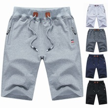 Summer New Casual Shorts Men's Fashion Fashion Knitted Sport