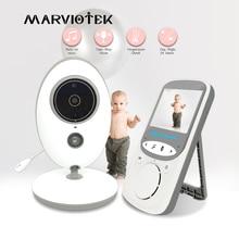 Niania elektroniczna Baby Monitor bezprzewodowy LCD Audio wideo niania muzyki domofon IR 24h telefon dla dzieci aparat dla dzieci dla dzieci Walkie Talkie opiekunka do dziecka