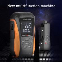 Novo 6 em 1 multifunction opm medidor de energia óptica localizador de falhas visual teste cabo rede fibra óptica tester 5km 15km vfl led
