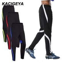 Men Football Pants Zipper Training Running Gym Trousers Outdoor Bottoms Cycling Workout Sweatpants