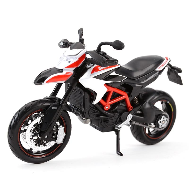 Maisto 1:12 Ducati Hypermotard SP 2013 Red Diecast Alloy Motorcycle Model Toy