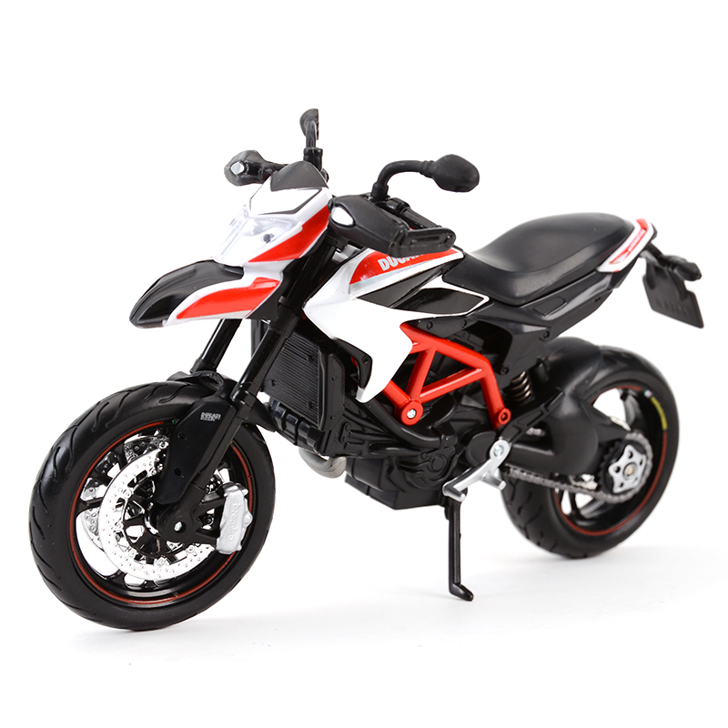 Maisto 1:12 Ducati Hypermotard SP 2013 Red Diecast Alloy <font><b>Motorcycle</b></font> <font><b>Model</b></font> Toy image