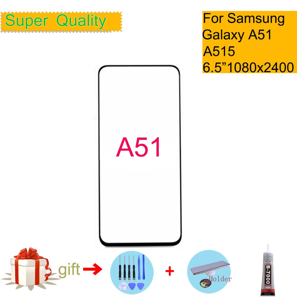 Replacement For Samsung Galaxy A51 Touch Screen Front Glass Panel LCD Outer Display Lens A51 A515 SM-A515F/DSN Front Glass