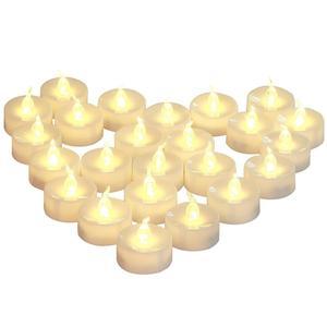 12 pieces temporizador a pilhas conduziu velas, luzes de chá cintilação decorativas, 6 horas em, 18 horas fora para casa férias dec