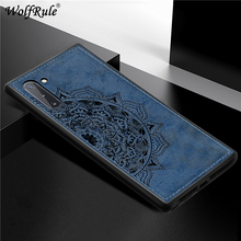 For Samsung Note 10 Case Magnetic Fashion Shockproof Fabric Cloth Galaxy Plus Cover
