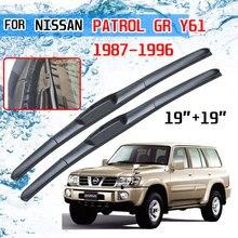 Für Nissan Patrol GR Y61 1987 1988 1989 1999 1991 1992 1993 1994 1995 1996 Zubehör Auto Front Wischer Klingen pinsel Cutter