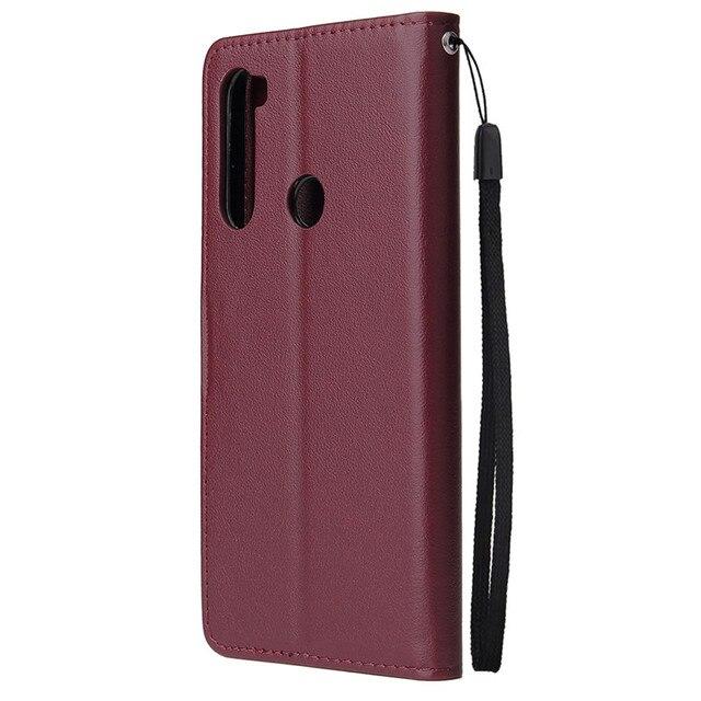 Flip Wallet Case for Xiaomi Redmi Note 10 Pro Max 9 8 7 6 5 4 Pro 9 9A 9C 9T 8 8A 7A 6A 5A 4X 5 Plus Leather Case Protect Cover 3
