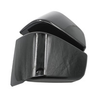 2 Piece black Motorcycle Battery Side Fairing Covers Cap For Honda Shadow ACE VT400 VT750 VT 400 750 1997 2003 1998 1999 2000