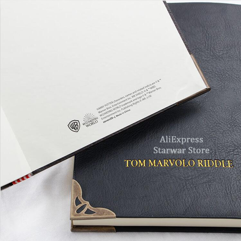 NEW Tom Riddle Diary Lord Voldemort Horcrux Wizard Ron Wizard Students Kids Birthday XMAS Gift Collection