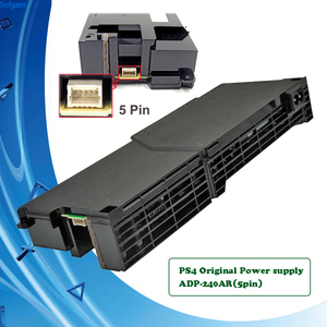 PS4 Оригинальные запасные Запасные части Блок питания адаптер переменного тока 5pin ADP-240AR для Sony Play Station 4 PS 4 1001 серии консоли