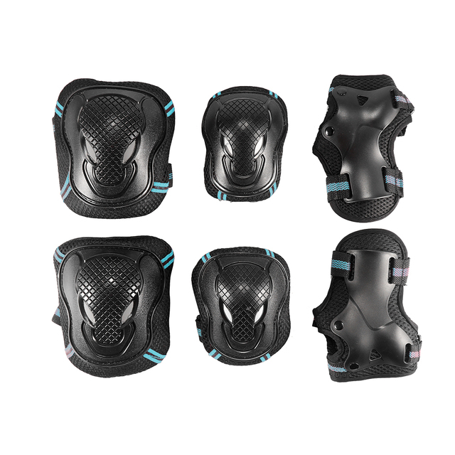Elbow Knee Pads Sport Set Safety Protective Gear Guard Motorcycle Skateboarding