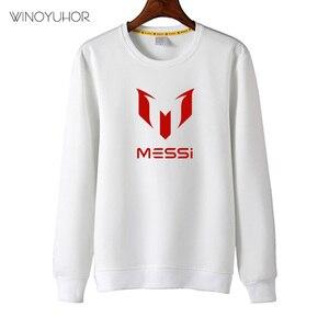 Image 3 - ילדי מסי מכתב לוגו הדפסת חולצות בני בנות סתיו מקרית חולצות ילדים כדורגל נים היפ הופ בסוודרים