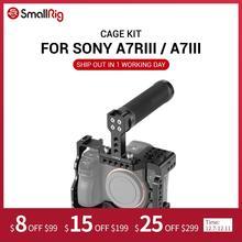 SmallRig A7M3 kamera kafesi kiti Sony A7RIII / A7III kamera kolu kavrama el Video çekim