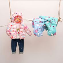 Childrens Garment Cotton-padded Coat 2019 Frivolous Fund Catamite Girl Baby Down Jackets Cotton warm coats