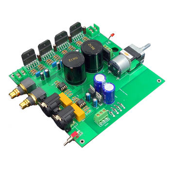 A600 Full Balanced XLR Input Full Balanced XLR Output LM3886TF Amplifier LM3886 Power Amplifier DIY kits for decoder CD