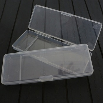 Toolbox Plastic Transparent Organizer knife Jewel Bead Case Cover Container Storage Box for Jewelry Pill Hardware tool parts image