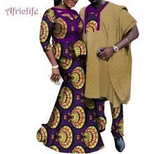 Одежда для пары в африканском стиле самая низкая цена Женская