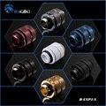 Bykski B-EXPJ-X  16-22 мм штекерные фитинги переменной длины  несколько цветов G1/4 штекерные фитинги  для SLI CF