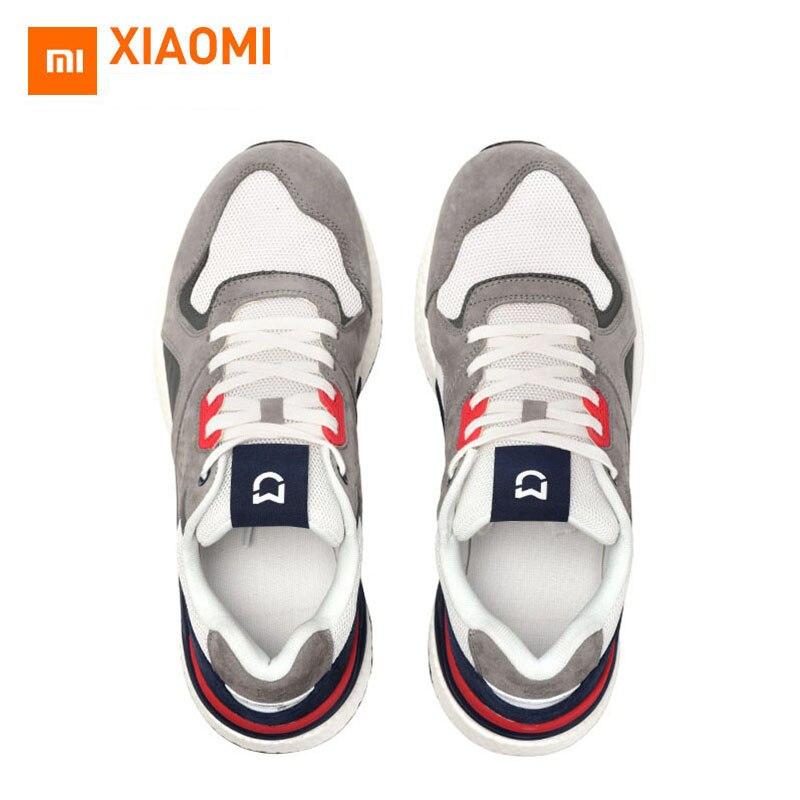 2019 Xiaomi Chaussures De Course Hommes Mijia Baskets pour Hommes Maille Chaussures De Sport Respirant Poids Léger Chaussures de Marche décontracté Chaussures De Voyage