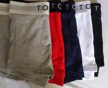 6 pçs modelo de moda homens boxers sexy cueca shorts u convexo designer respirável macio algodão boxer cueca masculina sob calcinha