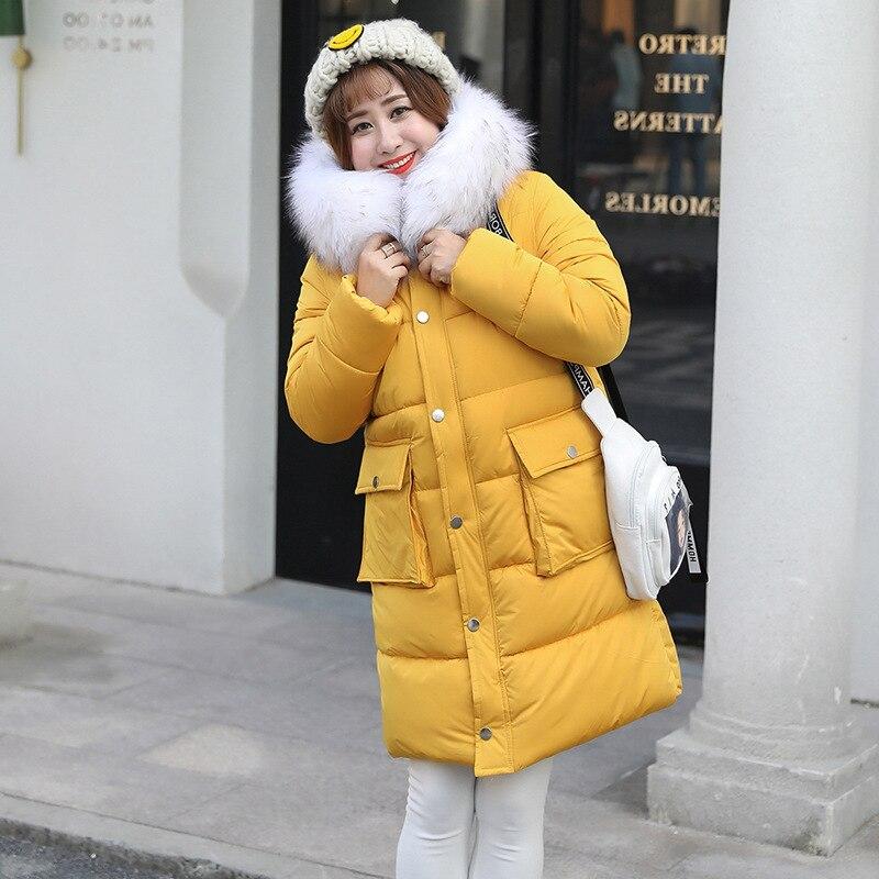 Winter Coat Women Korean Plus Size Jacket Women Hooded Warm Parka Women Jacket Casaco Feminino Y011 YY1253