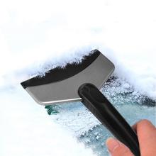 Okno samochodu szyba przednia szyba śnieg wyczyść skrobaczka do szyb Remover łopata Deicer Spade odladzanie czyszczenie narzędzie do masażu P tanie tanio CN (pochodzenie) Ekologiczne Glass Cleaning Tools RUBBER Z tworzywa sztucznego