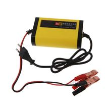 Car Motorcycle Battery Charger 12V 2A Full Automatic 3 Stages Auto Accessories