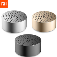 Mp3-Player Bluetooth-Speaker Xiaomi Call-Stereo Portable Wireless Original Aluminum-Frame
