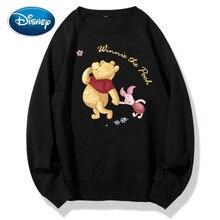 Disney Sweatshirt Mode Winnie De Pooh Beer Varken Cartoon Brief Print Vrouwen Unisex Lange Mouw Harajuku Streetwear Top 8 Kleur
